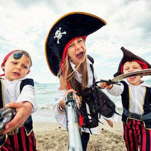 Little pirates attack!